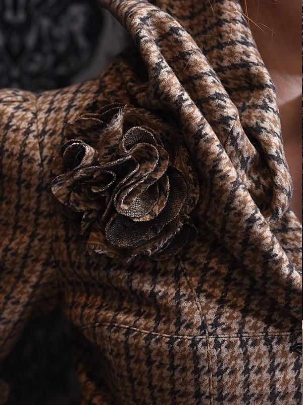 Mantel Martha mit Blume