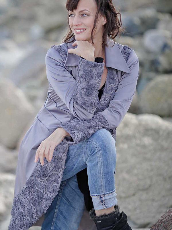 Longjacket Odette . Shirt Lexa
